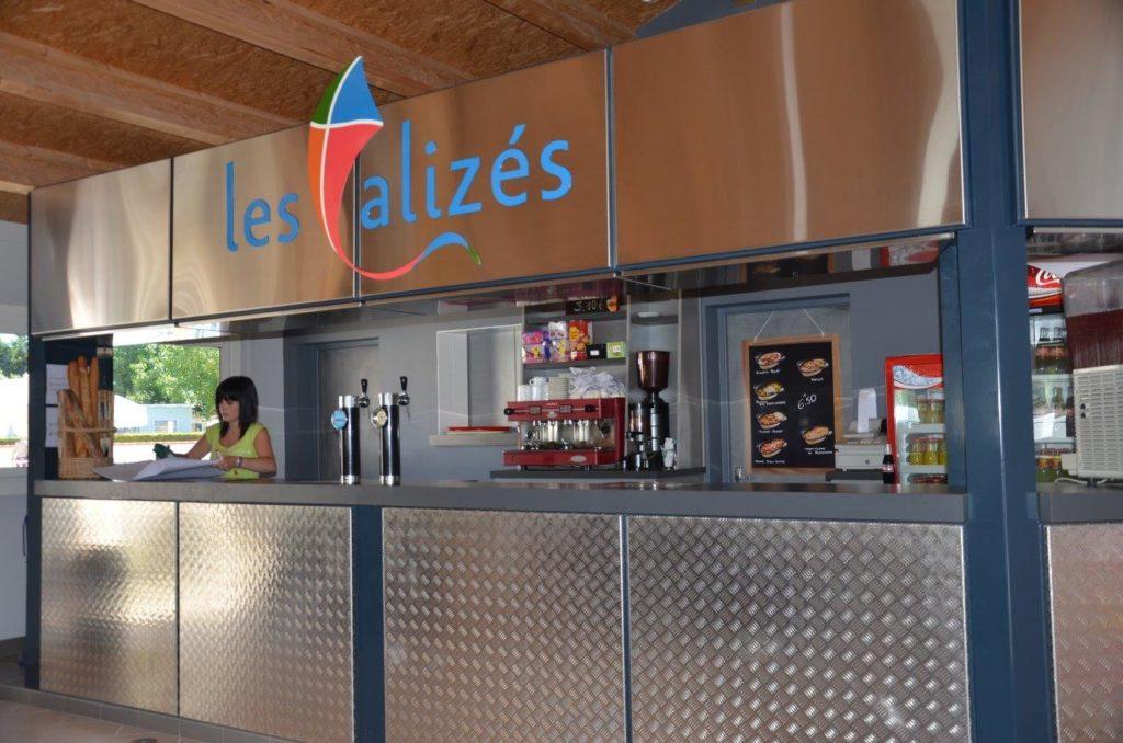 Bar du camping à Saint Hilaire de Riez