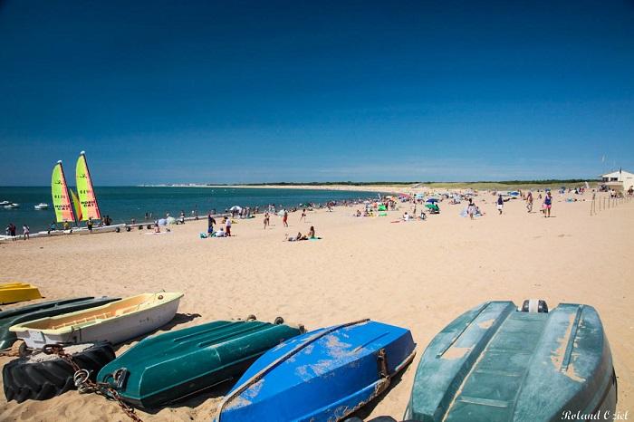 Saint Hilaire de Riez et sa plage proche du camping