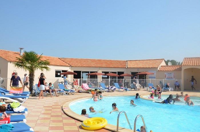 Camping à Saint Hilaire de Riez avec piscine