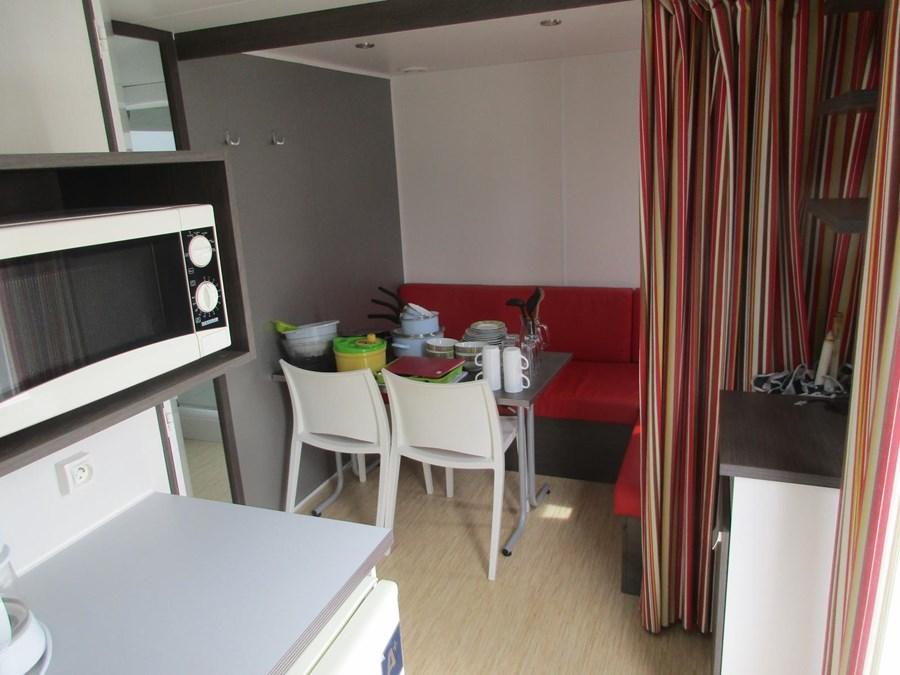 Location confortable dans un camping 3 étoiles en Vendée
