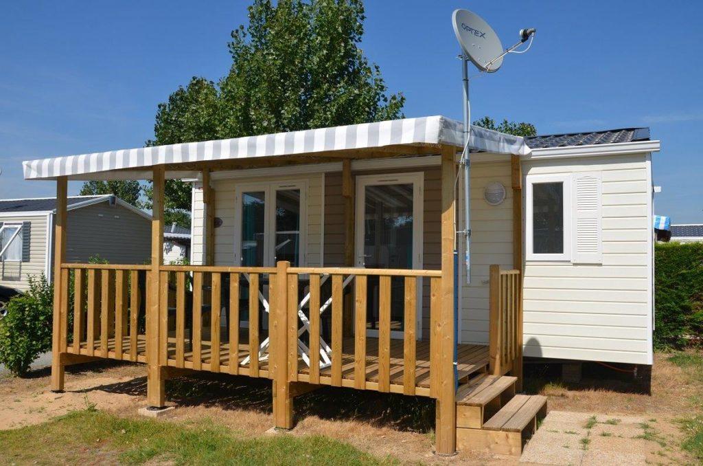 location de mobil home en promotion au camping les Alizés