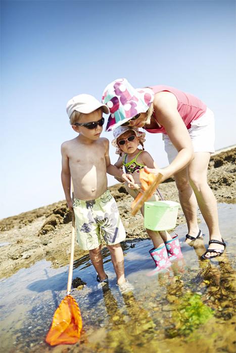 plage près du camping calme et familial en Vendée