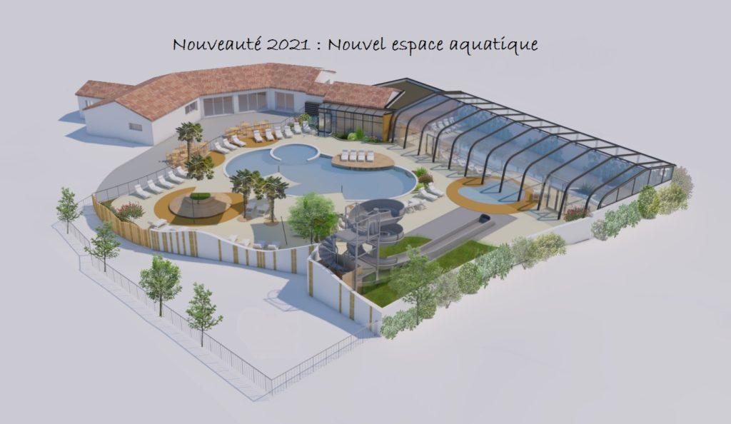 Nouvel espace aquatique en Vendée