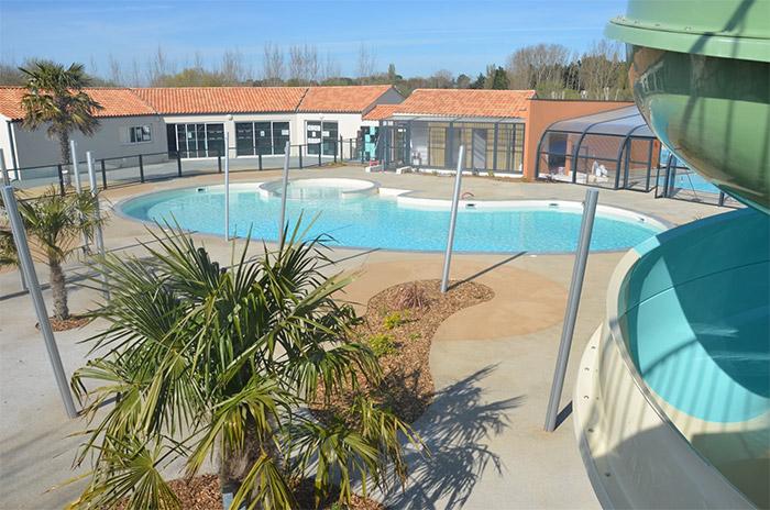 camping avec piscine et toboggan à Saint Hilaire de Riez