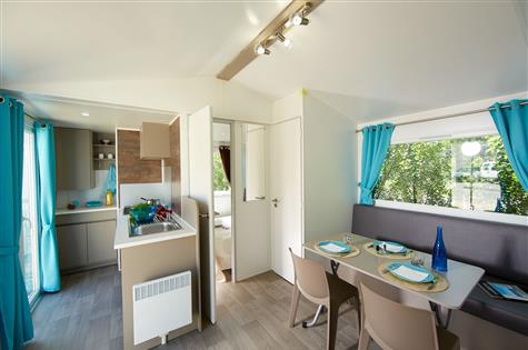 location mobil home camping à taille humaine en Vendée